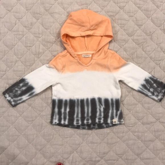 Burt's Bees Baby Other - NWOT Burt's Bees Baby dip dye ombré sweater
